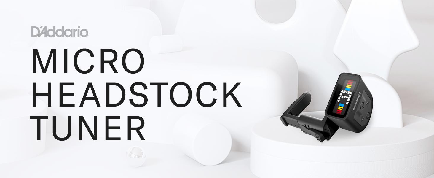 Micro Headstock Tuner
