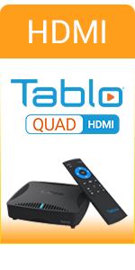 Tablo QUAD HDMI OTA DVR Compaison Chart Badge