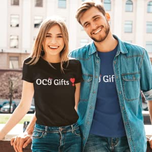 Customers wearing OC9 Gifts Merch