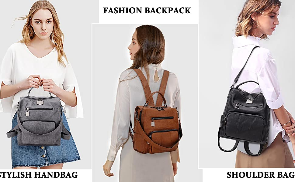 leather backpack,fashion backpack