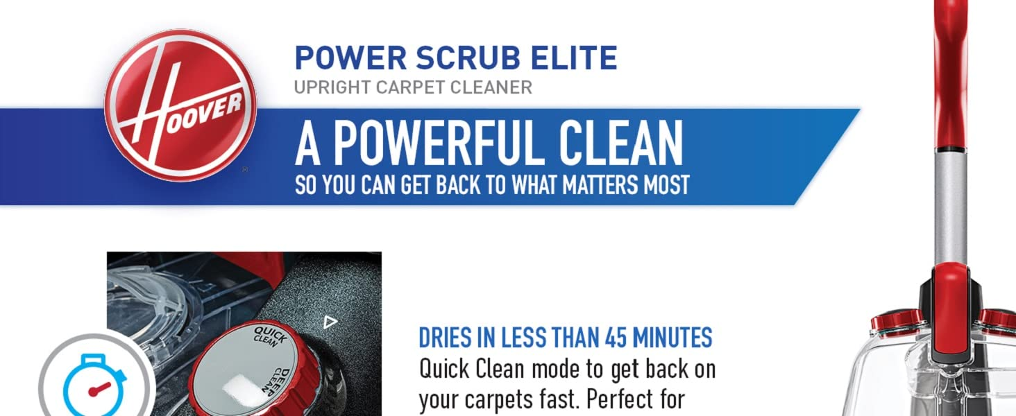 A powerful clean so you can get back to what matters most