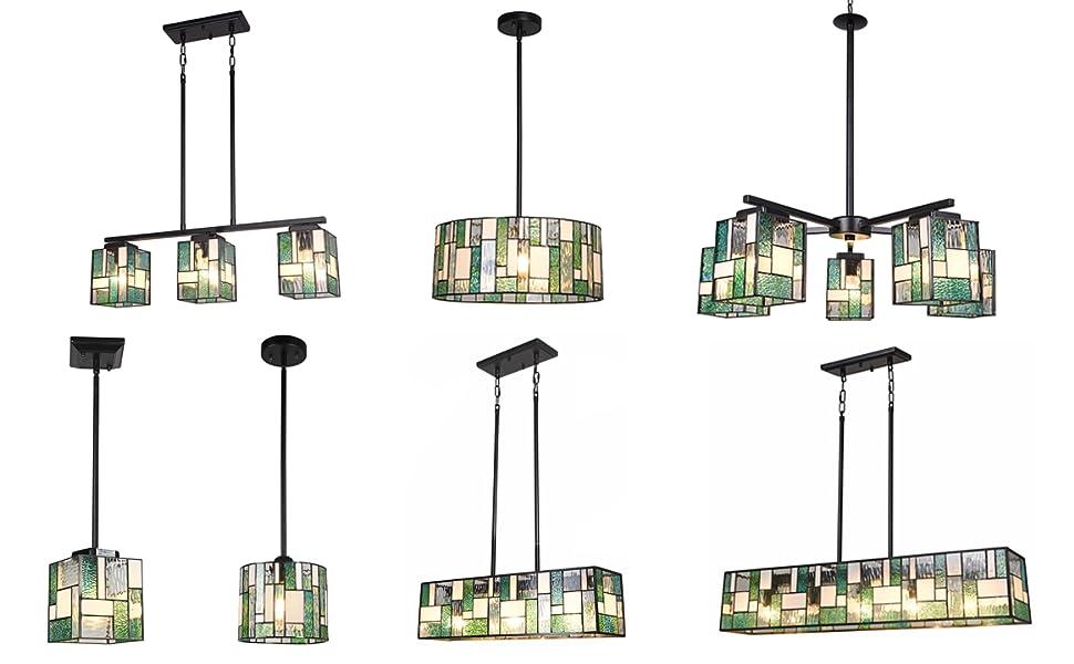 tiffany pendant light fixtures hanging