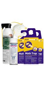 Clothes Moth Kit - 6 Months Protection