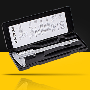 Vernier Caliper with Storage Case and Instructions