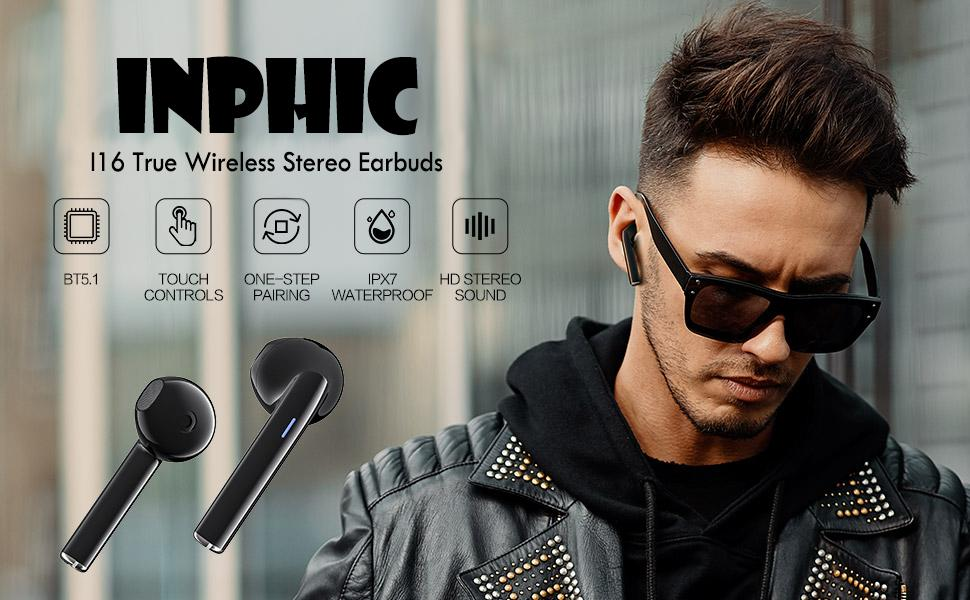 Inphic Wireless Earbuds