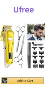 gold hair clipper