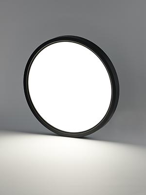 black flush mount ceiling light