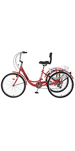 Red mountain tricycle