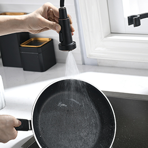 3 function sprayer kitchen faucet