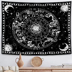 12 Constellation Tapestry For Bedrooms