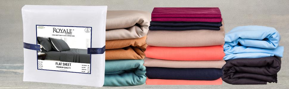 Flat sheet colors