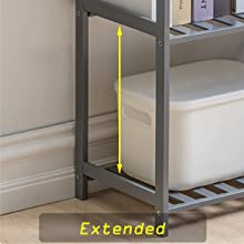 extended height storage rack