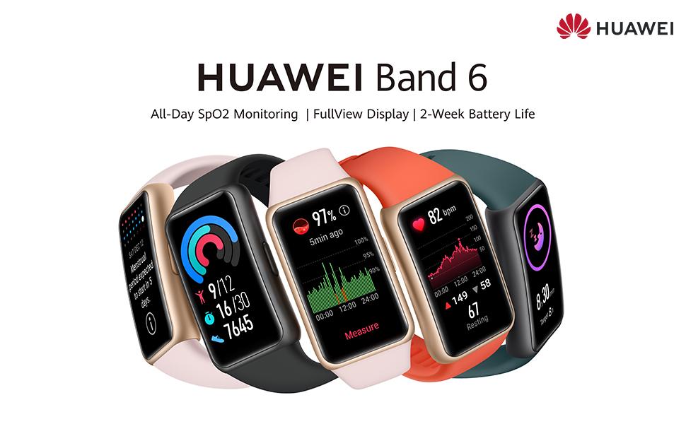 HUAWEI Band 6 - FullView Display - Batterijduur