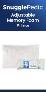 SnugglePedic Adjustable Pillow