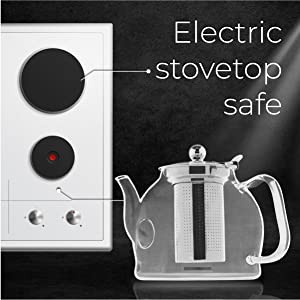 You can reheat your tea at moderate temperature using your electric cooker