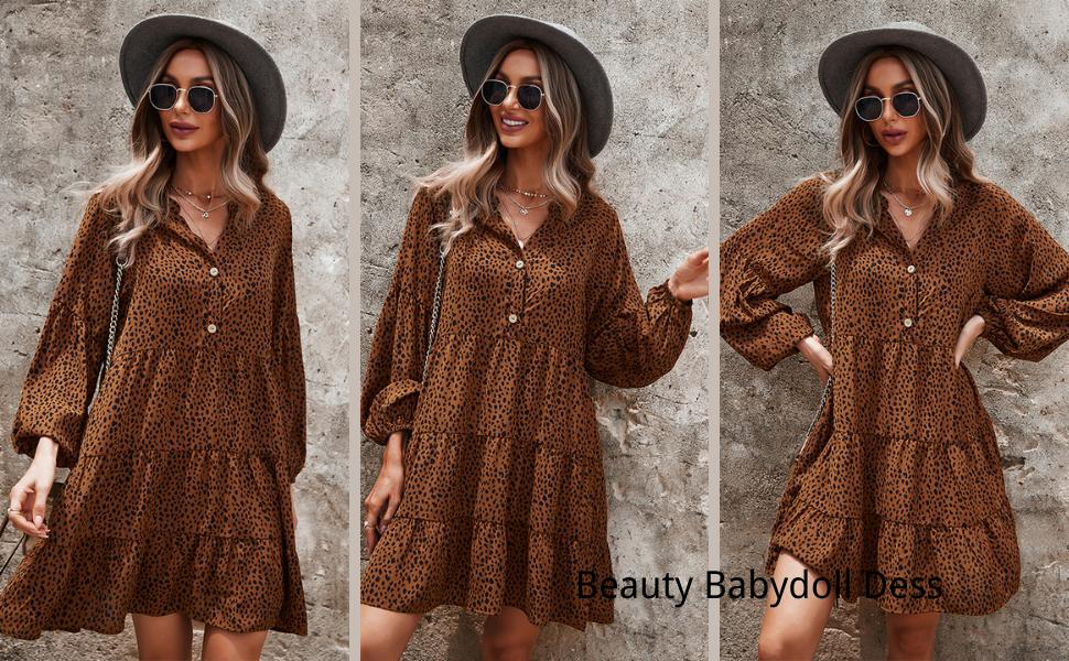 brown dress for women