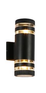 Cylindrical wall light