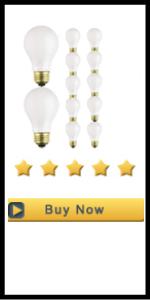 Satco S3928 (12-Bulbs) 75 Watt A19 Rough Service Incandescent Heavy Duty Light Bulb, Frosted, Medium