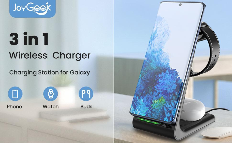 3 in 1 wireless charger for samsung