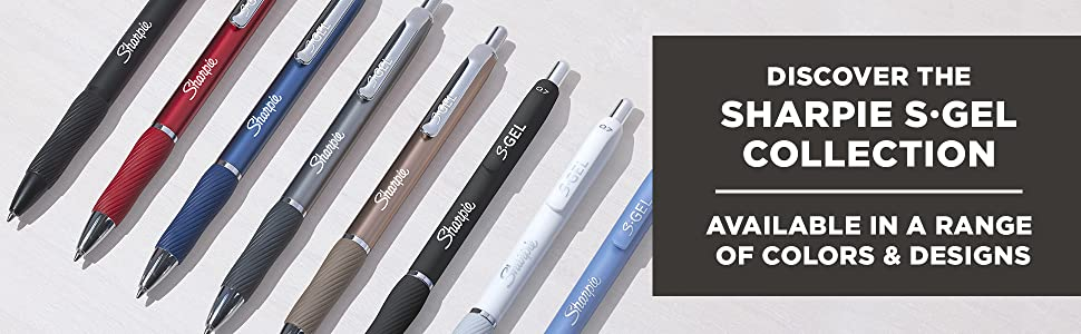 Discover the Sharpie S-Gel Collection