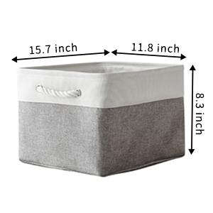 cloth storage bins