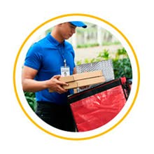 ABC Thermal Bubble Mailers Insulated Shipping Bags for Food Perishable Box Shipping Frozen Food