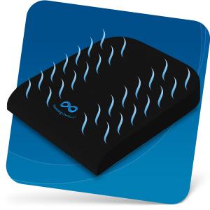 Wheelchair cushions gel memory foam with heat responsive technology
