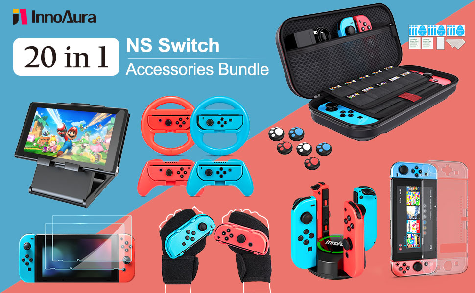 nintendo switch accessories kit
