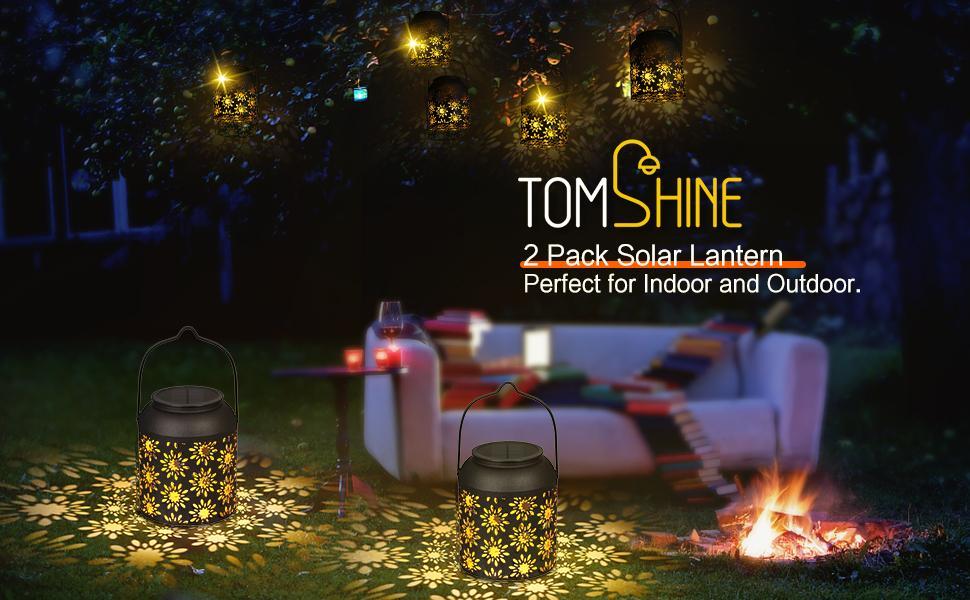 Tomshine Solar Lantern Outdoor