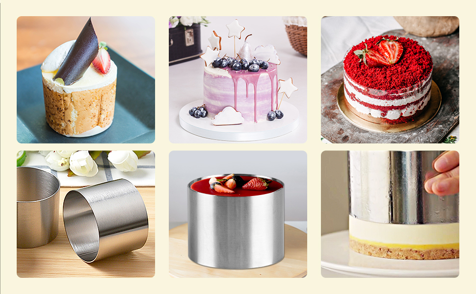 Take baking your cakes, tarts, pies, cookies, pancakes, cheesecake, biscuits and sandwiches.