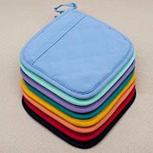 Colorful Pot Holders