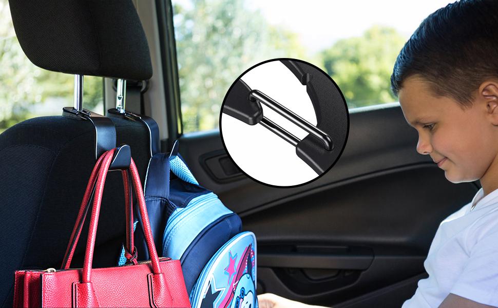 car back seat hooks