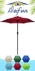 7.5ft Round Patio Umbrella