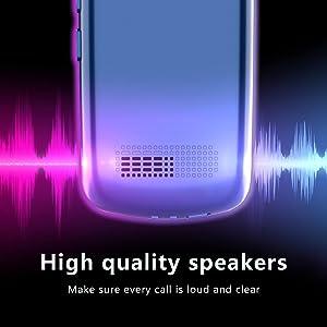 Large volume basic cell phone