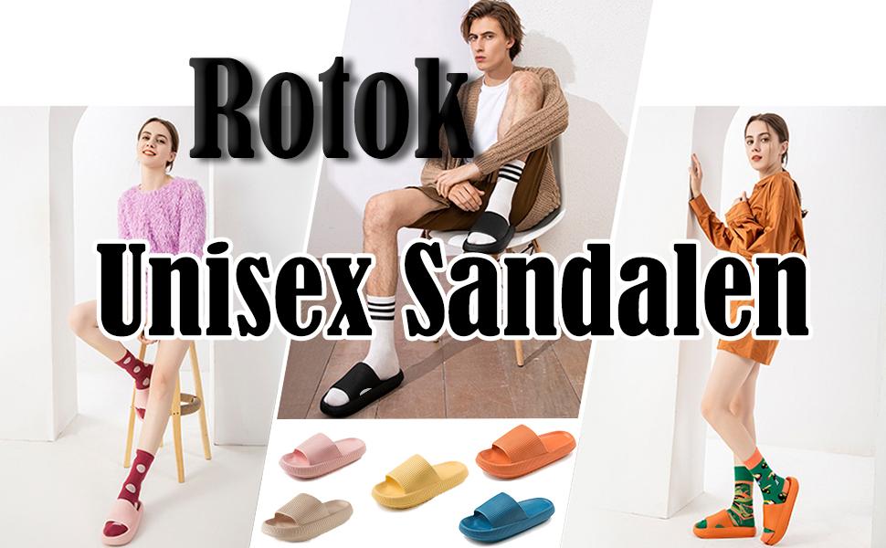 unisex sandalen rotok