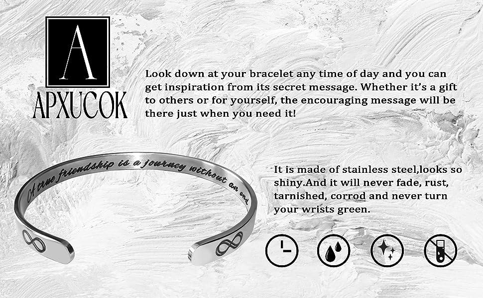 Inspirational bracelets for teengirls