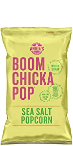Angie's Boom Chicka Pop Gluten- Free Sea Salt Popcorn