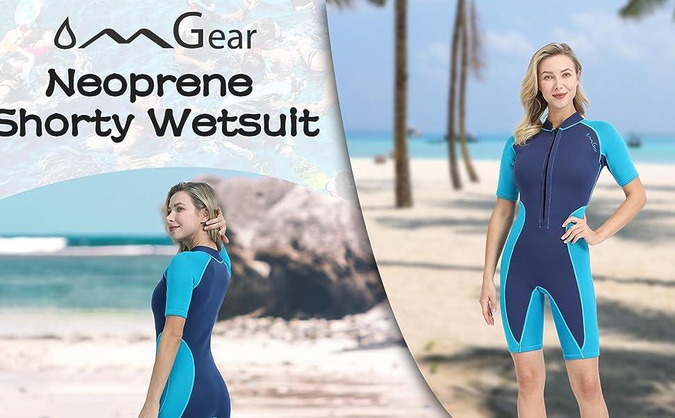 Neoprene diving wetsuit snorkeling kit