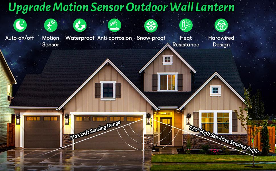 motion sensor outdoor light