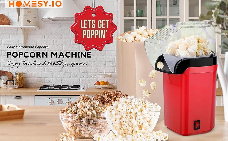 a+10Hot air popcorn make