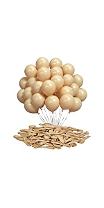 5 inch nude balloons