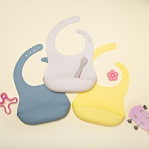 silicone bibs for baby boy