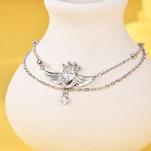 Heart Bracelet Anklet for Women