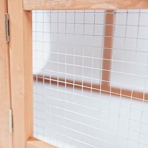 Chicken Coop, Wooden Waterproof Rabbit Hutch Indooramp; Outdoor, Easy-clean Pet house