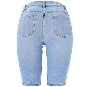 Bermuda shorts for women,shorts for women,denim bermuda shorts,denim shorts