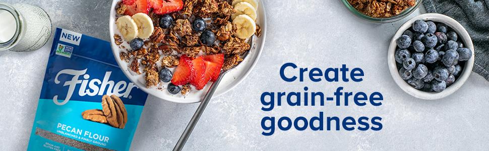 Create grain-free goodness