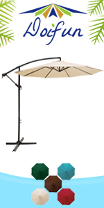 10ft Cantilever Umbrella