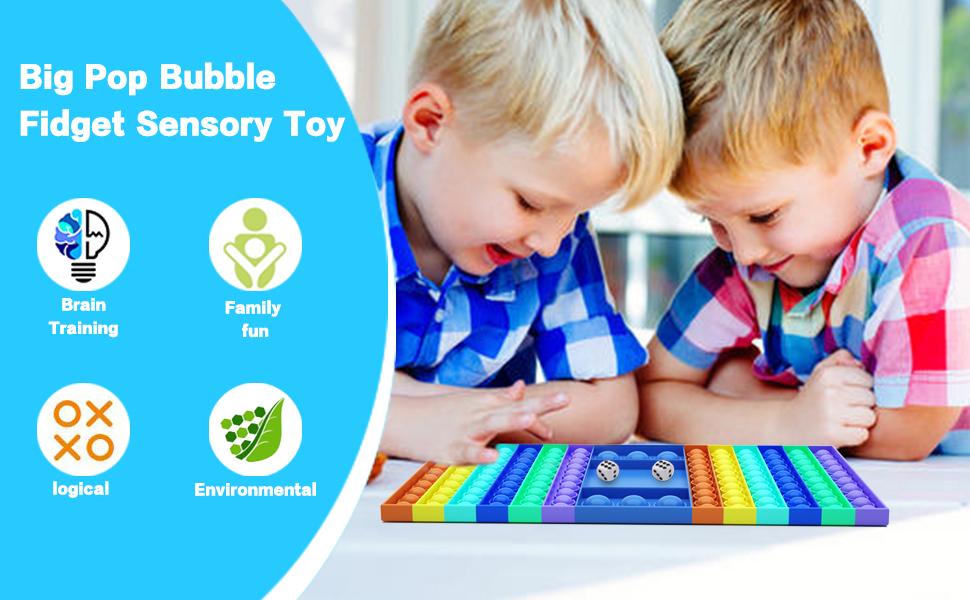 Jumbo Pop Bubble Fidget Sensory Toy