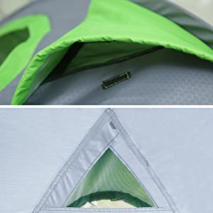 EZOLY Pop Up Tent 2 Seconds Setup 4 Persons Instant Automatic Waterproof Family Tents for Camping