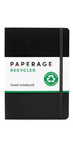 Recycled Lined Journal